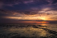 Kuala Perlis Sunset Fotografia de Stock Royalty Free
