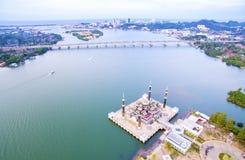 Kuala Terengganu crystal mosque Royalty Free Stock Photo