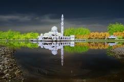 Kuala Terengganu Mosque Fantasy Foto de Stock Royalty Free