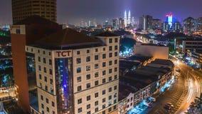 KualaLumper NightTimeLapse stock footage