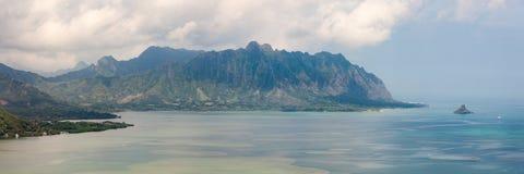 Kualoa grani panorama Obraz Stock