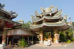 Kuan Im Chokchai寺庙在清迈 图库摄影