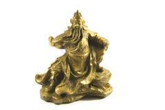 Kuan Kung dios chino de la guerra y de la prosperidad Imagenes de archivo