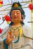 Kuan Yim, chinesische Göttin im chinesischen Tempel bei Phitsanulok, thailändisch Stockfotos