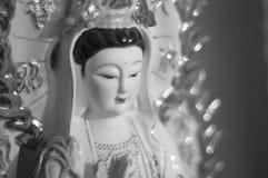 Kuan yin gudinnan av förskoning royaltyfria foton