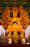 Kuan Yin with 1000 hands Royalty Free Stock Photo