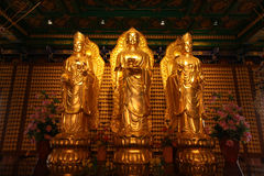 Kuan Yin image of buddha Chinese art Royalty Free Stock Photography