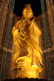 Kuan Yin Statue. Bronze statue of Kuan Yin / Guan Yin (Goddess of Mercy) at Kek Lok Si Temple, Penang, Malaysia Stock Image