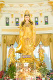 Kuan Yin status Royalty Free Stock Images