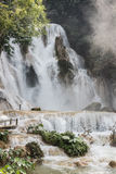 Kuang Si Fall in Luang Prabang Stockbilder