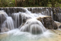 Kuang Si Falls Royalty Free Stock Images