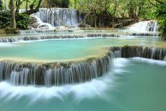 Kuang Si Falls Photographie stock