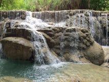 Kuang Si Falls Fotografering för Bildbyråer