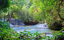Kuang Si Waterfall. Luang Prabang. Laos. Stock Image