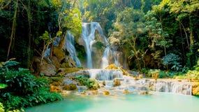 Kuang Si Falls Royalty Free Stock Image