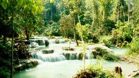Kuang Si Falls Stock Photo