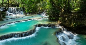 Kuang Si Falls royalty free stock photo