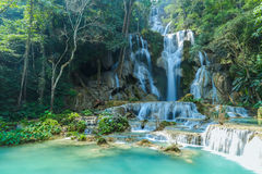 Kuang Si Falls Stock Photo