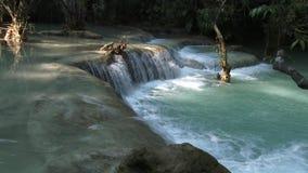 Kuang Si Spada w Luang Prabang, Laos zbiory wideo