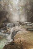 Kuang Si vattenfall Royaltyfri Bild