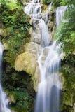 Kuang Si vattenfall Royaltyfria Bilder