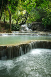 Kuang Si Waterfall Stock Photo