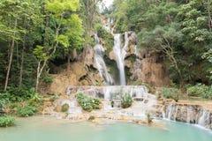 Kuang Si Waterfall royalty free stock photos