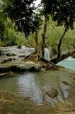 Kuang Si waterfall Laos Stock Photos
