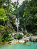 Kuang Si waterfall, Laos Stock Photos