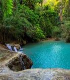 Kuang Si waterfall Royalty Free Stock Image