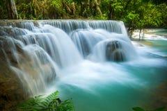 Kuang Si Waterfall in Luang prabang, LAOS Stock Foto