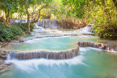 Kuang Si Waterfall, Luang Prabang, Laos Royalty Free Stock Image