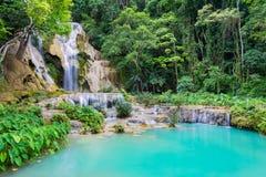 Kuang Si Waterfall Royalty Free Stock Photography