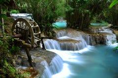 Kuang Si Waterfall, Luang prabang, Laos Stock Image