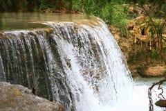 Kuang si waterfall Stock Images