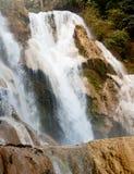 Kuang Si Waterfall near Luang Prabang, Laos Stock Photography