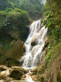 Kuang Si Waterfall, prabang de Luang, Laos Fotos de archivo libres de regalías