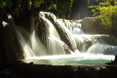Kuang Si WaterFalls Royalty Free Stock Photos