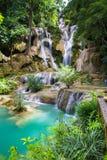 Kuang Si Waterfalls Royalty Free Stock Photography