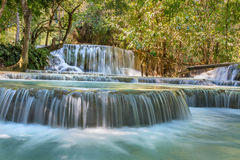 Kuang Si Waterfalls, Luang Phrabang Royalty Free Stock Photos