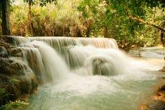 Kuang Si Waterfalls Stock Photography