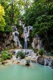 Kuang Si Waterfalls, Luang Prabang, Laos Royalty Free Stock Images