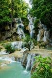 Kuang Si Waterfalls, Luang Prabang, Laos Stock Photography