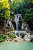Kuang Si Waterfalls, Luang Prabang, Laos Royalty Free Stock Photo