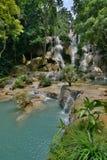 Kuangsi siklawa Luang Prabang Laos Fotografia Royalty Free
