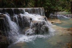 The Kuangsi Waterfalls royalty free stock images