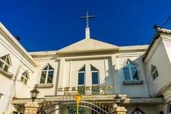 Kuanjie-Protestant Christian Church Beijing China lizenzfreie stockbilder