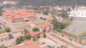 Kuantan Pahang la Malesia 25 agosto 2018, vista cinematografica aerea all'università islamica internazionale Malesia di IIUM video d archivio