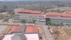 Kuantan, Pahang/Malasia - 28 de agosto de 2018: Edificio de la visión aérea en la universidad islámica internacional Malasia de I