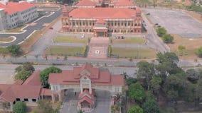 Kuantan Pahang Malaysia 25 Augusti 2018, IIUM Front Gate och lager videofilmer